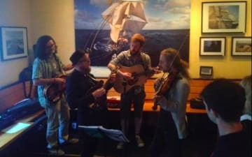 Cologne Bluegrass Bash Jam in Mannis Rästorang