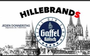 Gaffel Freibier Party im Hillebrands