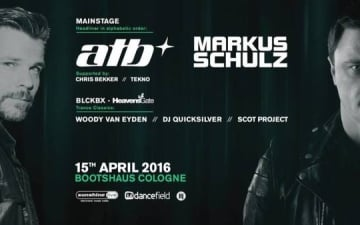 Musical Madness mit ATB & Markus Schulz - Bootshaus Köln
