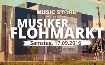 Musikerflohmarkt am Music Store