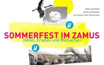 Sommerfest im ZAMUS