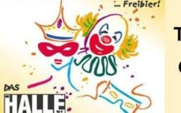 Karnevalsparty in der Halle Tor 2