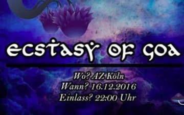 Ecstasy of Goa im Autonomen Zentrum Köln