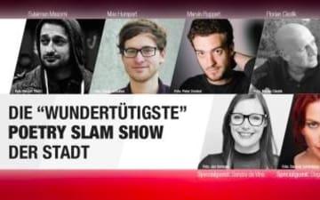 """Die """"wundertütigste"""" Poetry-Slam Show der Stadt"""