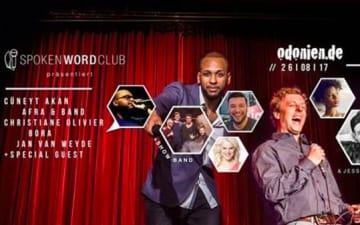 SpokenWordClub - Open Air Comedy Special im Odonien