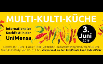 Multi-Kulti-Küche - Internationales Kochfest in der Uni Mensa