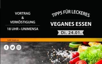 Tipps für Veganes Essen + Verköstigung in der Uni Mensa