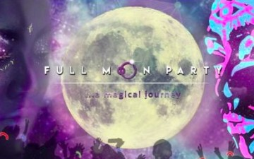 Full Moon Party in der Poller Strandbar