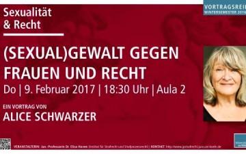 Alice Schwarzer an der Universität zu Köln
