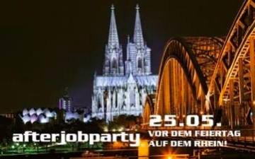 Die Kölner AfterJob Party auf dem Rhein