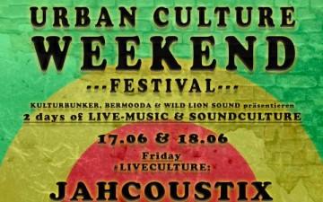 Urban Culture Weekend Festival im Kulturbunker