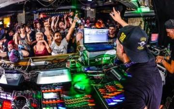 Tommy Libera B-Day Rave in der Elektroküche