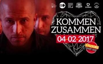 Kommen Zusammen - We need Techno im e-Feld