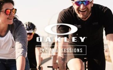 Oakley Cycling Sessions im Odonien