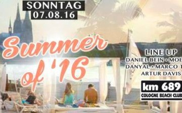Summer of '16 Open Air im km689 Beach Club