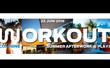 Workout Cologne - Summer Afterwork an der Playa