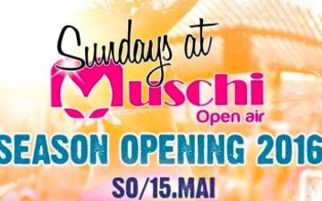 Pfingstsonntag Muschi-Party - Season Opening 2016 - Halle Tor 2