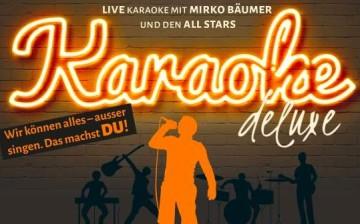 Karaoke Deluxe mit Liveband in der Groove Bar & Lounge