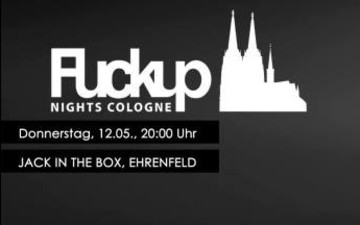FuckUp Nights Cologne Vol. VII im JACK IN THE BOX e.V.