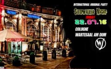 International Sleepwalker Night im Wartesaal am Dom
