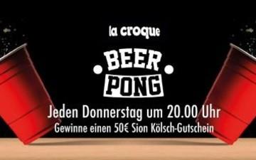 Beer Pong Night im La Croque