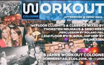 6 Jahre Workout Cologne - Afterwork im Heinz Gaul
