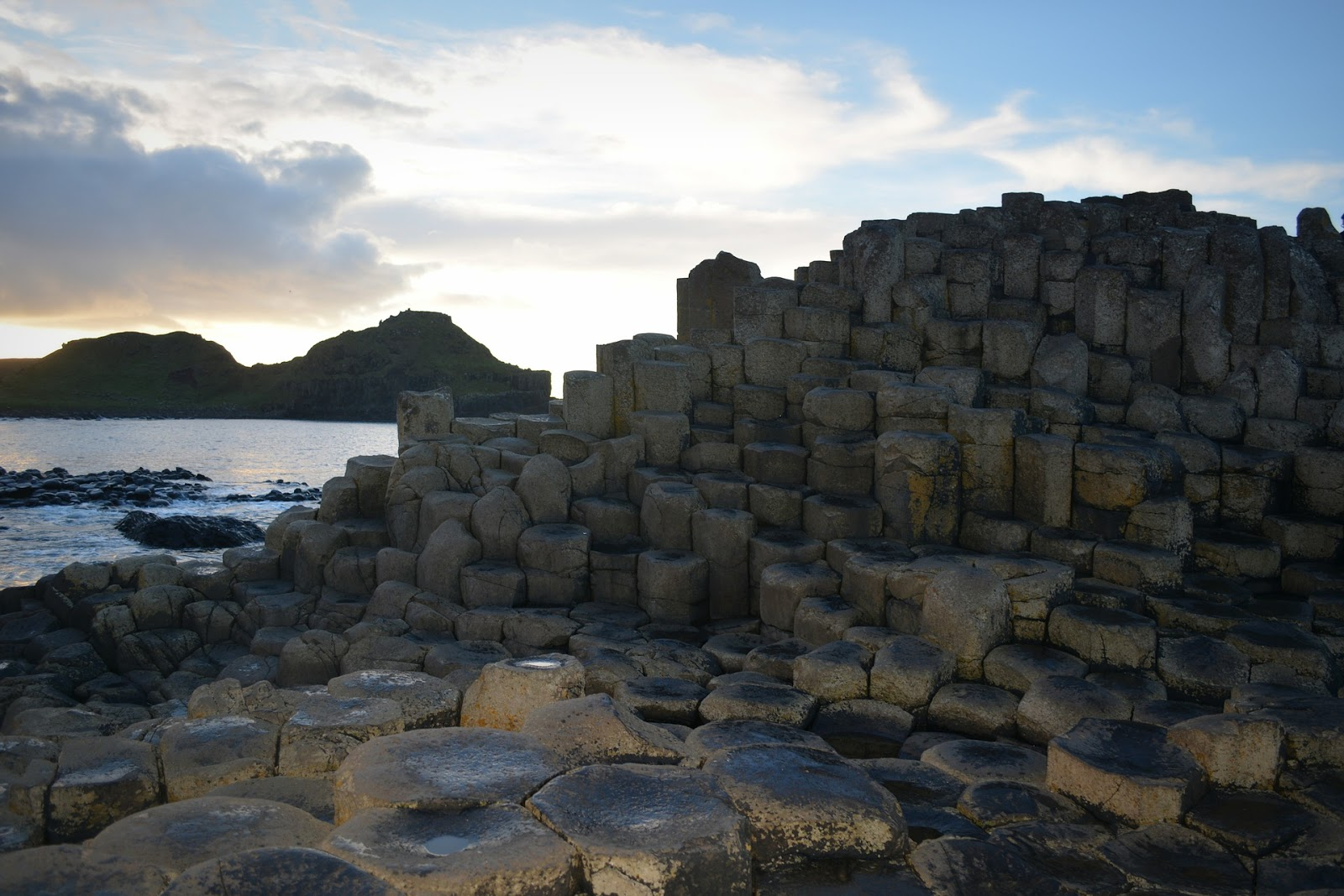 1. Calzada del Gigante. Antrim, Irlanda del Norte