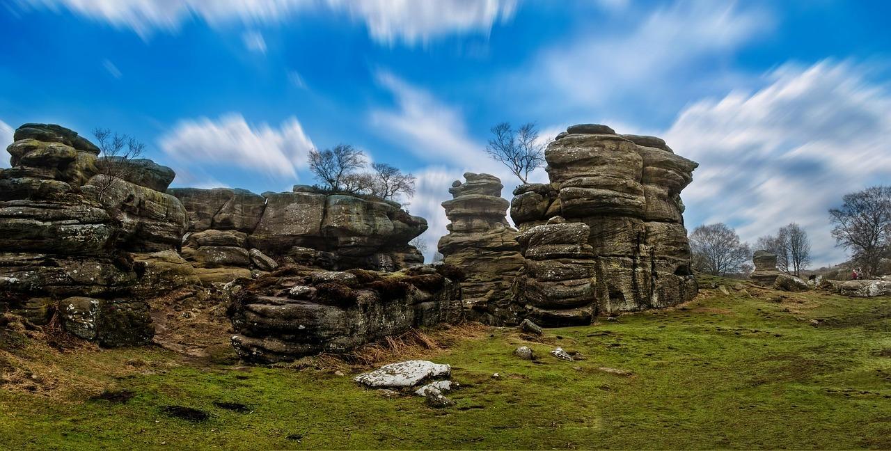 5. Brimham Rocks. Norte de Yorkshire, Inglaterra