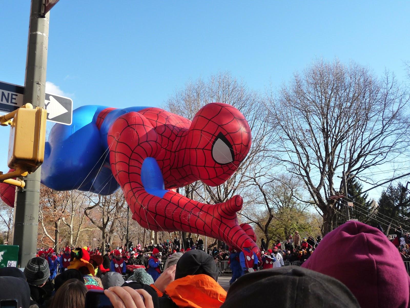 El primer desfile de Thanksgiving