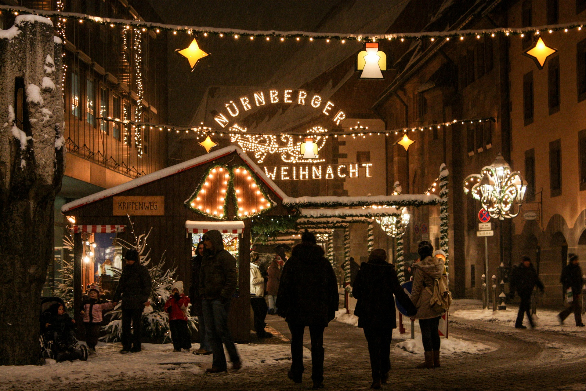 4. Christkindlesmarket. Núremberg, Alemania