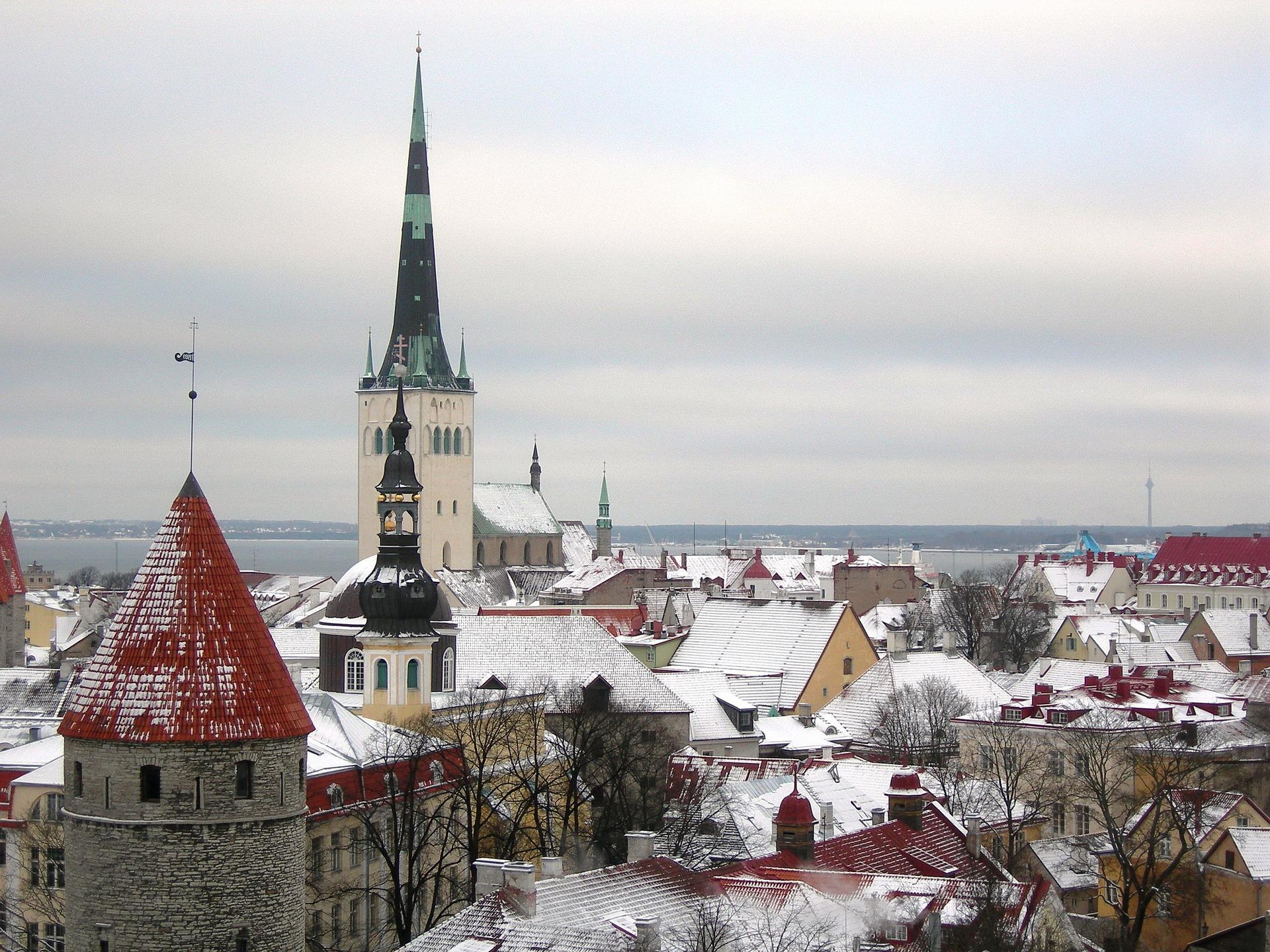 3. Mercado en la Plaza del Antiguo Ayuntamiento. Tallin, Estonia