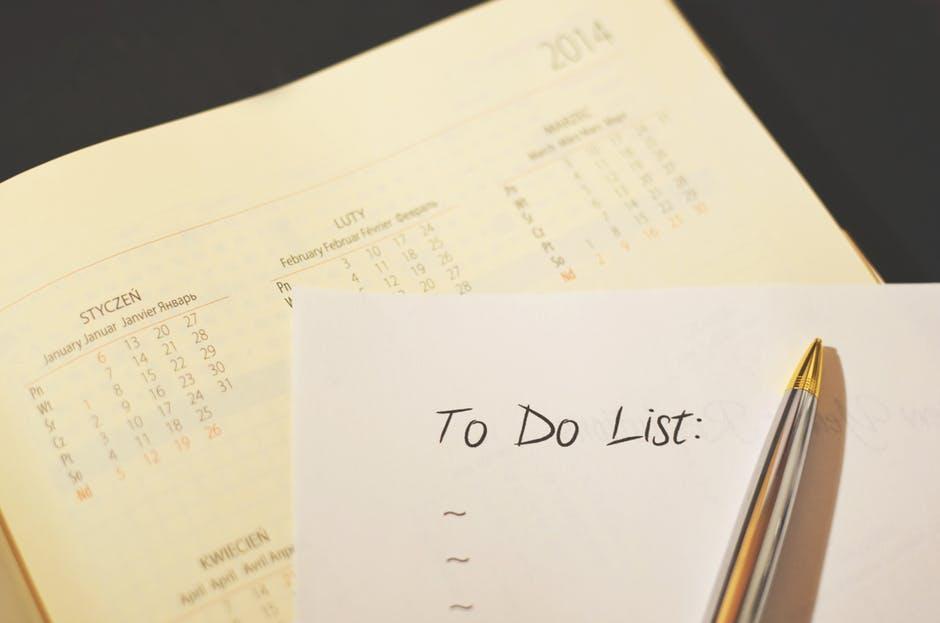 Hacer una lista de tareas