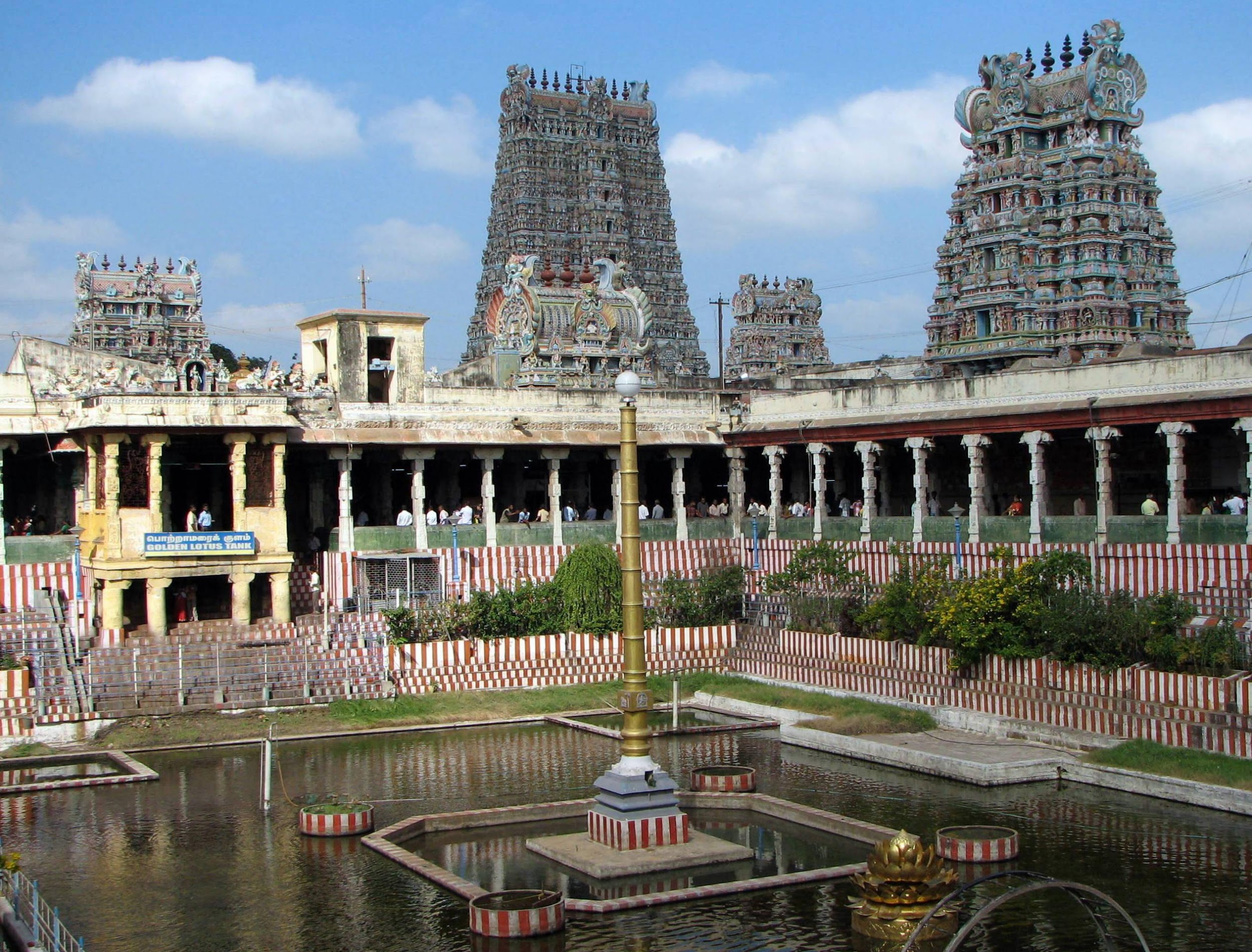 Templo Meenakshi, Madurai, Tamil Nadu