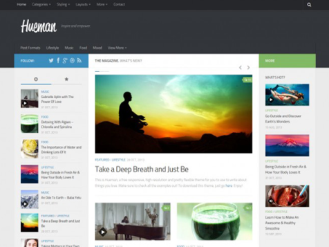 hueman free responsive magazine wordpress theme