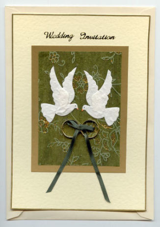 Free Wedding Card making Demonstration