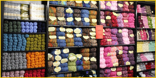 Our new Knitting and Wool Department