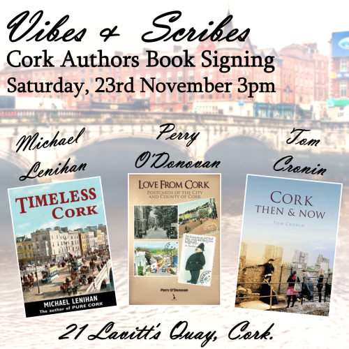 Vibes & Scribes Cork Authors Signing