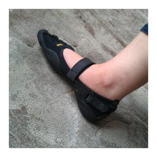Mon pied droit. Sisi !