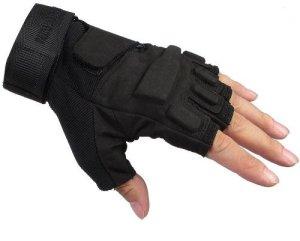 Seibertron Men's Black Tactical shooting gloves