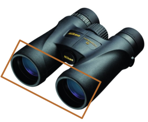 Objective lens seize