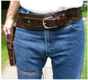 cowboy gun belts and holsters