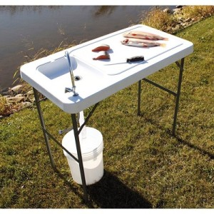 tricam fish cleaning table