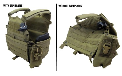 With and without sapi dummy plates