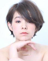 ◇大人女性に人気のひし形ショートヘア