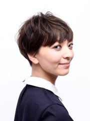 ☆大人ヘア 髪型「すっきり小顔ショートヘアー」
