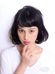☆大人ヘアー髪型 「シンプルボブ」