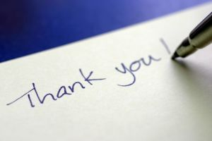 Send a Thank-You Note | Vertical Media Solutions