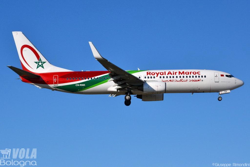 Ram - Royal Air Maroc Boeing 737-8B6(WL)