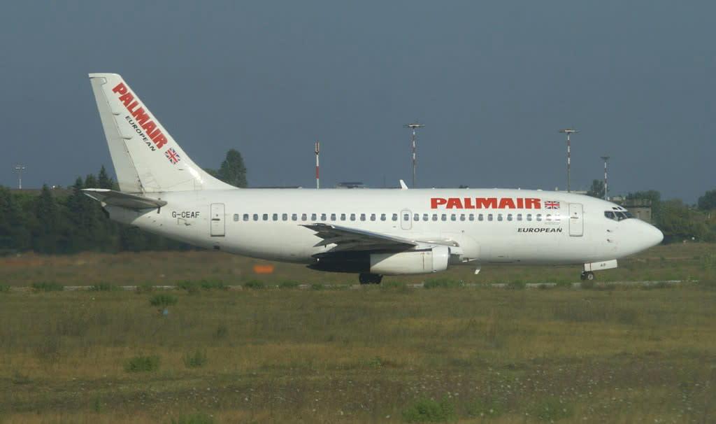 European Aviation (EAL) Boeing 737-200