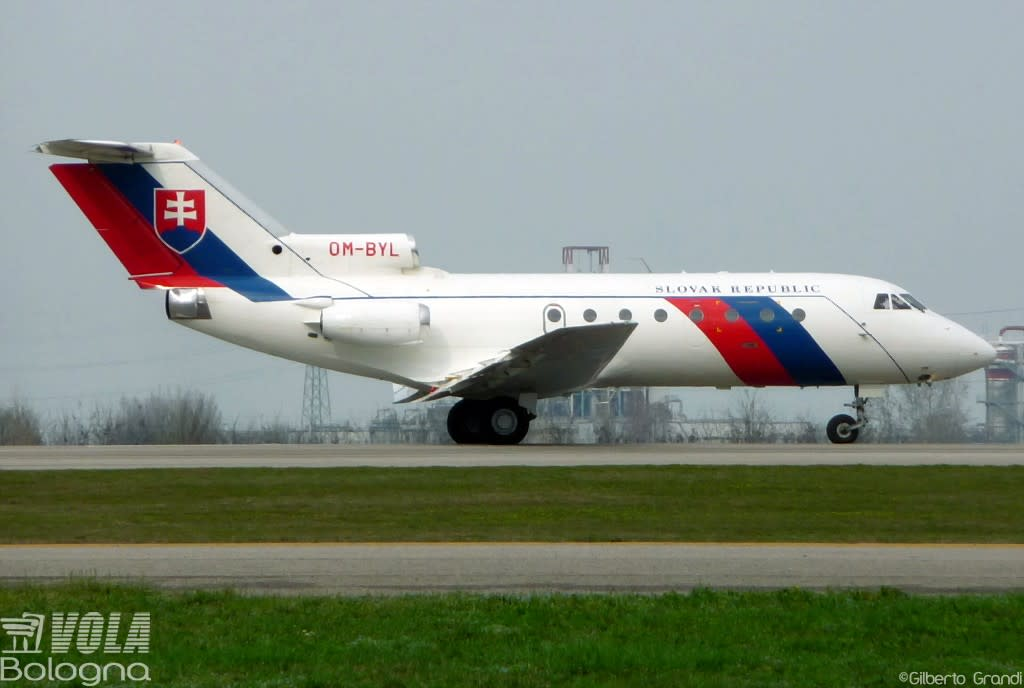 Slovak Republic - Government Flying Service Yakovlev  Yak 40